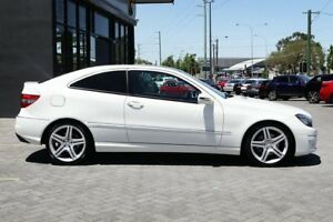 2010 Mercedes-Benz CLC200 Kompressor CL203 White 5 Speed Automatic Coupe