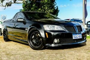 2009 Holden Ute VE MY10 SS V Special Edition Black 6 Speed Manual Utility