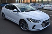 2018 Hyundai Elantra AD MY18 Elite White 6 Speed Sports Automatic Sedan Hoppers Crossing Wyndham Area Preview