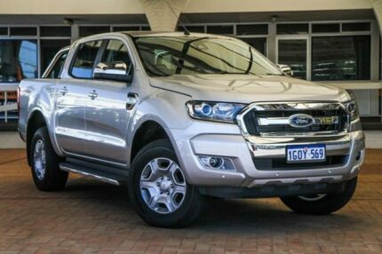 2018 Ford Ranger PX MkII 2018.00MY XLT Super Cab Silver 6 Speed Sports Automatic Utility Melville Melville Area Preview