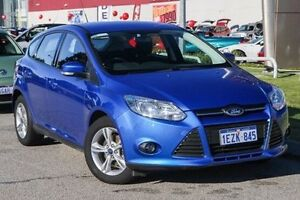 2013 Ford Focus LW MKII Trend PwrShift Blue 6 Speed Sports Automatic Dual Clutch Hatchback East Rockingham Rockingham Area Preview