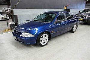 2000 Ford Falcon AU II S Blue 5 Speed Manual Sedan Maryville Newcastle Area Preview