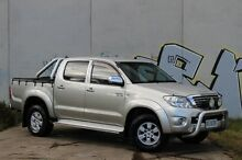 2010 Toyota Hilux GGN25R MY10 SR5 Silver 5 Speed Manual Utility Derwent Park Glenorchy Area Preview