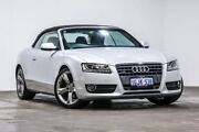 2010 Audi A5 8T MY10 S tronic quattro Silver 7 Speed Sports Automatic Dual Clutch Cabriolet Welshpool Canning Area Preview