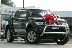 2014 Mitsubishi Triton MN MY15 GLX-R Double Cab Black 5 Speed Manual Utility Pennant Hills Hornsby Area Preview