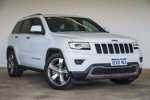 2015 Jeep Grand Cherokee WK MY15 Limited White 8 Speed Sports Automatic Wagon Embleton Bayswater Area Preview