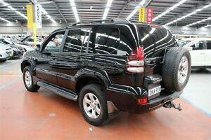 2007 Toyota Landcruiser Prado KDJ120R GXL Black 6 Speed Manual Wagon Maryville Newcastle Area Preview