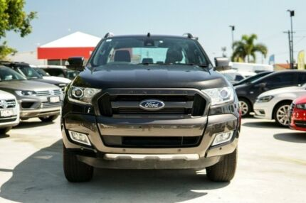 2015 Ford Ranger PX MkII Wildtrak Double Cab Black 6 Speed Sports Automatic Utility Kedron Brisbane North East Preview