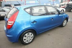 2009 Hyundai i30 FD MY09 SX Blue 4 Speed Automatic Hatchback Kingsville Maribyrnong Area Preview