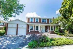 Detached Entire Home at Leslie/York Mills available immediately