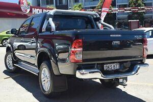 2013 Toyota Hilux KUN26R MY12 SR5 (4x4) Black 4 Speed Automatic Dual Cab Pick-up Homebush Strathfield Area Preview