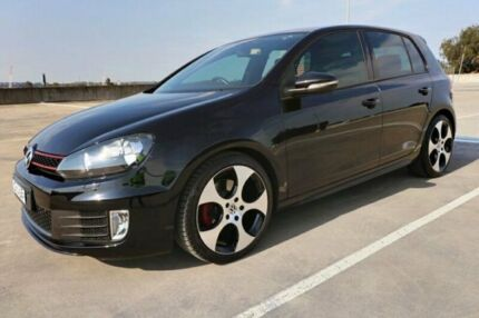 2012 Volkswagen Golf VI MY12.5 GTI DSG Black 6 Speed Sports Automatic Dual Clutch Hatchback