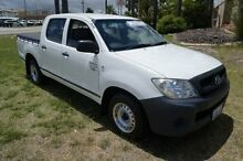 2009 Toyota Hilux TGN16R MY09 Workmate White 5 Speed Manual Utility Pearsall Wanneroo Area Preview