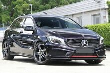 2015 Mercedes-Benz A250 176 MY15 Sport Purple 7 Speed Automatic Hatchback Petersham Marrickville Area Preview