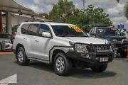 2015 Toyota Landcruiser Prado GDJ150R GXL White 6 Speed Sports Automatic Wagon Noosaville Noosa Area Preview
