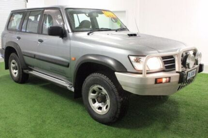 2002 Nissan Patrol  Silver Manual Wagon Moonah Glenorchy Area Preview