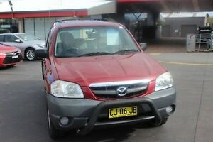 2005 Mazda Tribute LIMITED SPORT Limited Sport Red 4 Speed Automatic Wagon South Maitland Maitland Area Preview