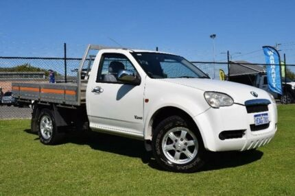 2011 Great Wall V240 K2 White Manual Cab Chassis East Rockingham Rockingham Area Preview