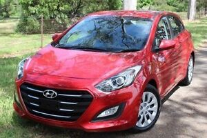 2015 Hyundai i30 GD3 Series II MY16 Active Red 6 Speed Sports Automatic Hatchback Hawthorn Mitcham Area Preview