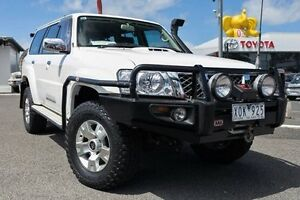 2009 Nissan Patrol GU 6 MY08 ST White 4 Speed Automatic Wagon Keysborough Greater Dandenong Preview