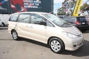 2004 Toyota Tarago ACR30R MY03 GLi Gold 4 Speed Automatic Wagon Kingsville Maribyrnong Area Preview