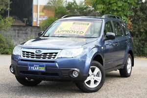 2012 Subaru Forester S3 MY12 X AWD Blue 4 Speed Sports Automatic Wagon Underwood Logan Area Preview
