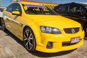 2011 Holden Commodore VE II SV6 Yellow 6 Speed Sports Automatic Sedan Underwood Logan Area Preview