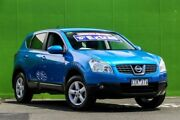 2009 Nissan Dualis J10 MY2009 Ti Hatch X-tronic Blue 6 Speed Constant Variable Hatchback Ringwood East Maroondah Area Preview