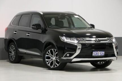 2018 Mitsubishi Outlander ZL MY18.5 Exceed 7 Seat (awd) Black 6 Speed Automatic Wagon Bentley Canning Area Preview