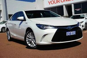 2015 Toyota Camry AVV50R Atara SL White 1 Speed Constant Variable Sedan Westminster Stirling Area Preview