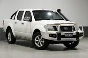 2014 Nissan Navara D40 MY12 ST-X 550 (4x4) White 7 Speed Automatic Dual Cab Utility Bentley Canning Area Preview