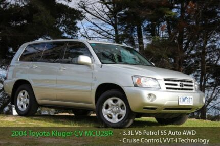 2004 Toyota Kluger MCU28R CVX (4x4) 5 Speed Automatic Wagon Officer Cardinia Area Preview