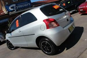 2005 Toyota Yaris NCP90R YR Silver 4 Speed Automatic Hatchback Hamilton Newcastle Area Preview