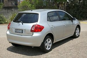 2007 Toyota Corolla ZRE152R Ascent Silver 6 Speed Manual Hatchback Underwood Logan Area Preview