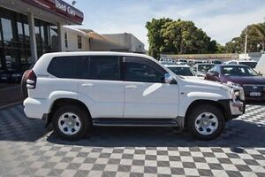 2008 Toyota Landcruiser Prado GRJ120R GX White 5 Speed Automatic Wagon Alfred Cove Melville Area Preview