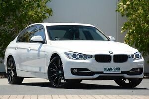 2015 BMW 316I F30 MY1114 Sport Line White 8 Speed Automatic Sedan Robina Gold Coast South Preview