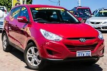 2013 Hyundai ix35 LM3 MY14 Active Red 6 Speed Sports Automatic Wagon Embleton Bayswater Area Preview