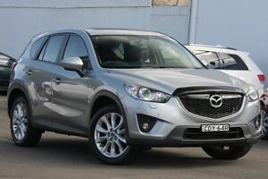 2012 Mazda CX-5 KE1071 Grand Touring SKYACTIV-Drive AWD Silver 6 Speed Sports Automatic Wagon Dee Why Manly Area Preview