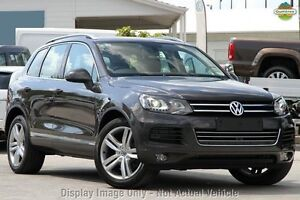 2012 Volkswagen Touareg 7P MY13 V6 TDI Tiptronic 4MOTION Grey 8 Speed Sports Automatic Wagon Moonah Glenorchy Area Preview
