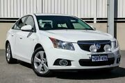 2014 Holden Cruze JH MY14 Equipe White 6 Speed Automatic Sedan Cannington Canning Area Preview