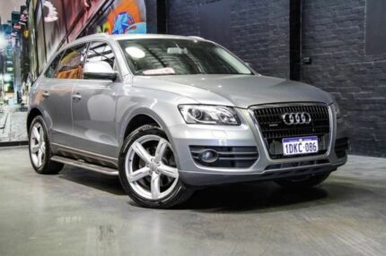 2010 Audi Q5 8R MY11 FSI S tronic quattro Grey 7 Speed Sports Automatic Dual Clutch Wagon Perth Perth City Area Preview