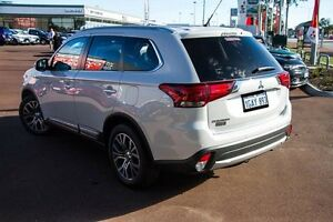 2015 Mitsubishi Outlander ZK MY16 XLS 2WD White 6 Speed Constant Variable Wagon Wilson Canning Area Preview