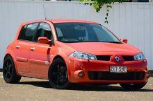 2005 Renault Megane II X84 Sport 225 Orange 6 Speed Manual Hatchback Chermside Brisbane North East Preview