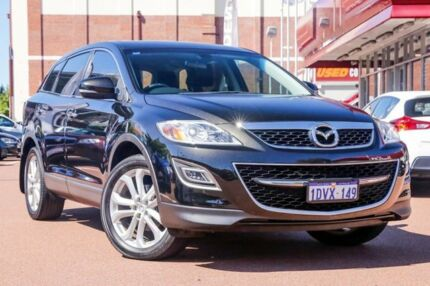 2012 Mazda CX-9 TB10A4 MY12 Luxury Black 6 Speed Sports Automatic Wagon Fremantle Fremantle Area Preview
