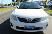 2010 Toyota Corolla ZRE152R MY11 Ascent White 4 Speed Automatic Sedan West Footscray Maribyrnong Area Preview