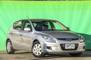 2009 Hyundai i30 FD MY09 SX Silver 5 Speed Manual Hatchback Ringwood East Maroondah Area Preview