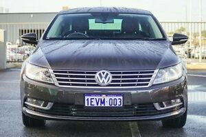 2012 Volkswagen CC 3C MY13 125 TDI Black Oak Brown 6 Speed Direct Shift Coupe Wangara Wanneroo Area Preview