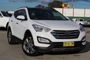 2014 Hyundai Santa Fe DM Highlander CRDi (4x4) White 6 Speed Automatic Wagon Belmore Canterbury Area Preview