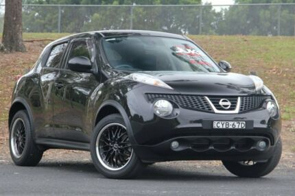 2015 Nissan Juke F15 Series 2 Ti-S 2WD Black 6 Speed Manual Hatchback West Gosford Gosford Area Preview