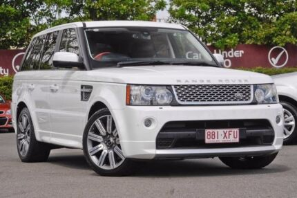 2012 Land Rover Range Rover Sport L320 12MY SDV6 CommandShift Autobiography White 6 Speed
